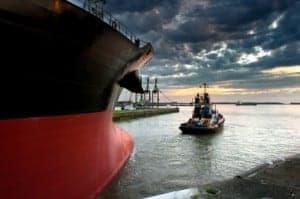 Ship; Tanker and tug