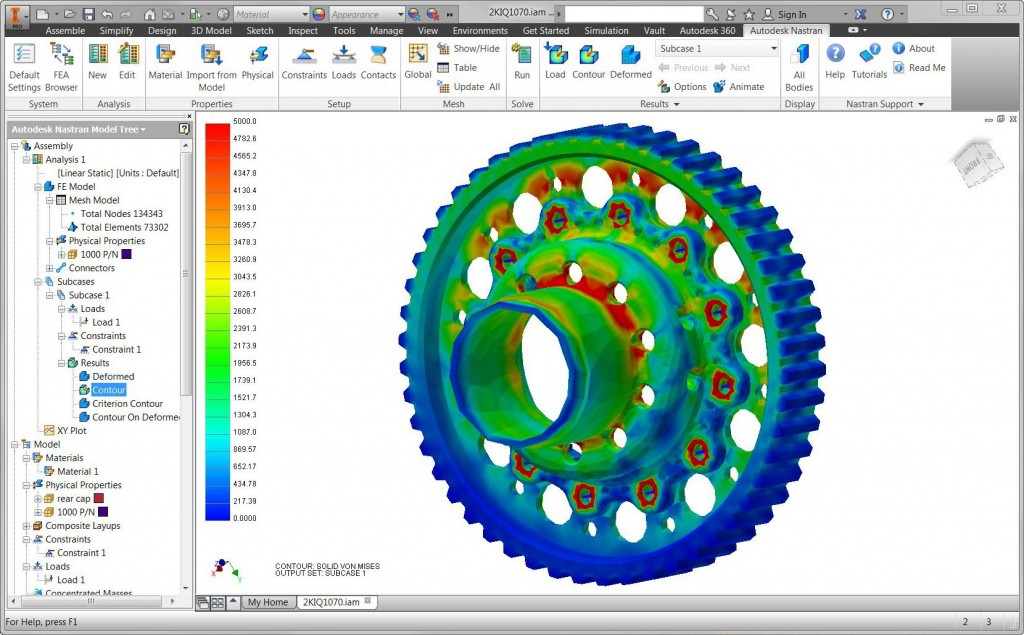 Autodesk in the big leagues with Nastran